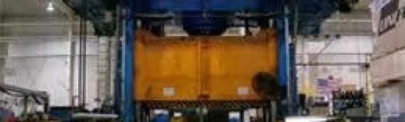 AHI Adds 1800 Ton Hydroforming Press